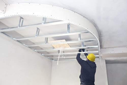 tradesman-making-a-false-ceiling